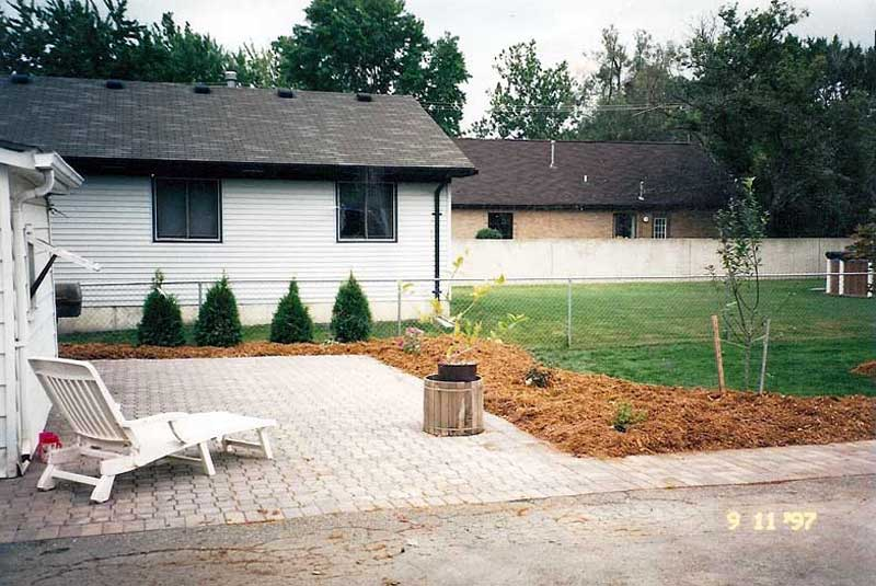 One Of The First Paving Jobs Was A Brick Patio At My Home. It Was An  Excellent Learning Experience, Most Of The Work Was Done By Hand With No  Machines.
